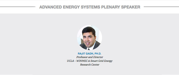 Advanced Energy Systems Plenary Speakers