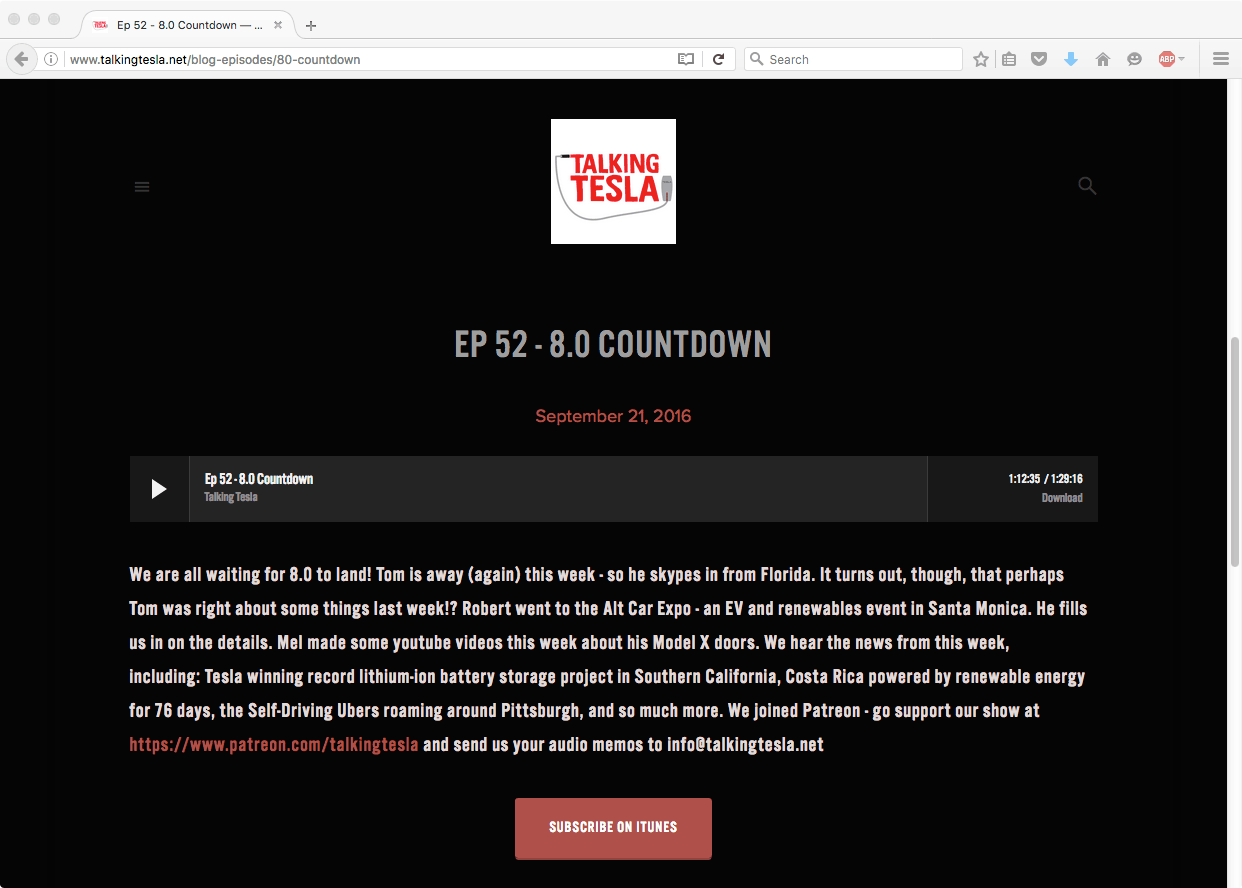 Talking Tesla Podcast - 8.0 Countdown
